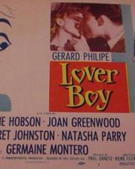 Poster for Lover Boy [Knave of Hearts] (1954) (2)
