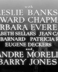 Main title from Madeleine (1950) (5). Leslie Banks, Edward Chapman, Barbara Everest, André Morell, Barry Jones