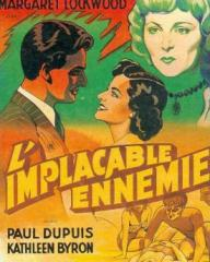 French poster for Madness of the Heart (1949) (1)