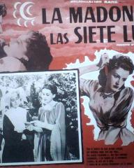 Mexican lobby card from Madonna of the Seven Moons (1944) (1)