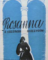 Polish poster for Madonna of the Seven Moons (1944) (1)