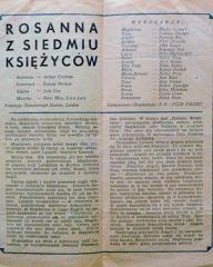 Polish pressbook for Madonna of the Seven Moons (1944) (1)