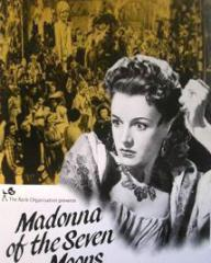 Phyllis Calvert (as Maddalena Labardi / Rosanna) in a poster for Madonna of the Seven Moons (1944) (1)