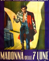 Stewart Granger (as Nino Barucci) in a Spanish poster for Madonna of the Seven Moons (1944) (2)