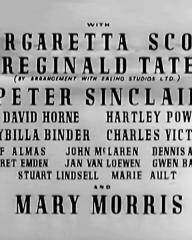 Main title from The Man from Morocco (1945) (3). With Margaretta Scott, Reginald Tate, Peter Sinclair and Mary Morris