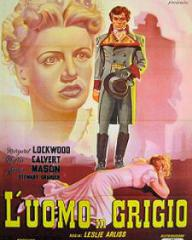 Italian poster for The Man in Grey (1943) (2)