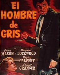 Spanish poster for The Man in Grey (1943) (2)