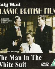 DVD cover of The Man in the White Suit (1951) (3)