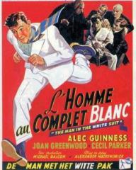 French poster for The Man in the White Suit (1951) (1)
