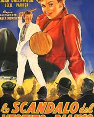 Italian poster for The Man in the White Suit (1951) (1)
