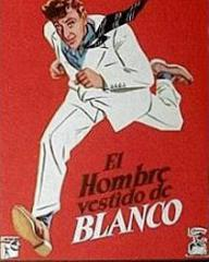 Spanish poster for The Man in the White Suit (1951) (1)