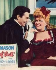 James Mason (as Lord Manderstoke) in an American lobby card from Man of Evil [Fanny by Gaslight] (1944) (1)
