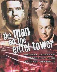 American DVD cover of The Man on the Eiffel Tower (1949) (1)