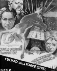 Italian DVD cover of The Man on the Eiffel Tower (1949) (1)