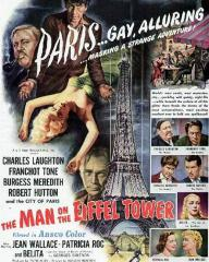 Poster for The Man on the Eiffel Tower (1949) (2)