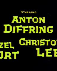Main title from The Man Who Could Cheat Death (1959) (5). Anton Diffring, Hazel Court, Christopher Lee