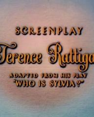 Main title from The Man Who Loved Redheads (1955) (6).  Screenplay Terence Rattigan, adapted from his play, 'Who is Sylvia?'