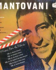 Mantovani and his orchestra with Rawicz and Landauer at the twin pianos.   Music from the films.   Warsaw Concerto, Serenata d'Amore, The Dream of Olwen, The Legend of the Glass Mountain, Story of Three Loves and Cornish Rhapsody.