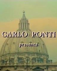 Main title from Massacre in Rome (1973) (2). Carlo Ponti presenta