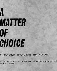 Main title from A Matter of Choice (1963) (4)
