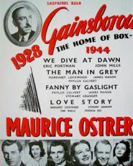 Poster featuring Maurice Ostrer and The Man in Grey (1943) (2)