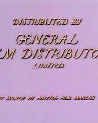 Main title from Meet Me Tonight (1952) (6).  Distributed by General Film Distributors Limited