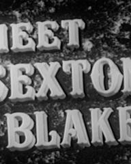 Main title from Meet Sexton Blake (1945)
