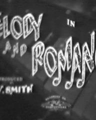 Main title from Melody and Romance (1937)