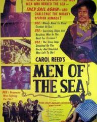 Poster for Men of the Sea [Midshipman Easy] (1935) (1)