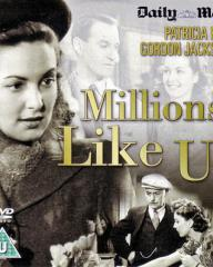 Patricia Roc (as Celia) in a DVD cover of Millions Like Us (1943) (1)
