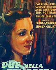 Patricia Roc (as Celia) in an Italian poster for Millions Like Us (1943) (1)