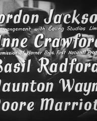Main title from Millions Like Us (1943) (3). Gordon Jackson, Anne Crawford, Basil Radford, Naunton Wayne, Moore Marriott