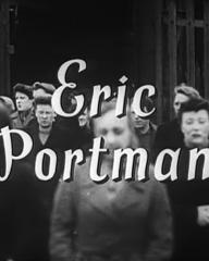 Main title from Millions Like Us (1943) (4). Eric Portman
