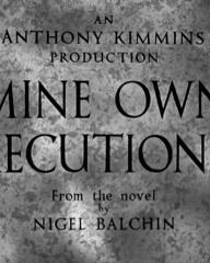 Main title from Mine Own Executioner (1947) (2).  An Anthony Kimmins production from the novel by Nigel Balchin