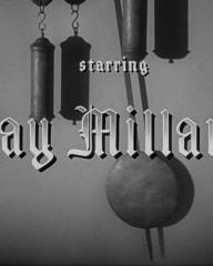 Main title from Ministry of Fear (1944) (3). Starring Ray Milland