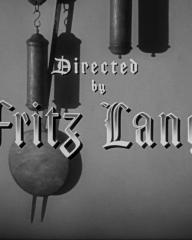 Main title from Ministry of Fear (1944) (8). Directed by Fritz Lang