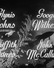 Main title from Miranda (1948) (3).  Glynis Johns, Googie Withers, Griffith Jones, John McCallum in