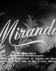 Main title from Miranda (1948) (4)