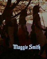 Main title from The Missionary (1982) (4).  Maggie Smith