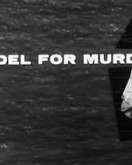 Main title from Model for Murder (1959) (3)