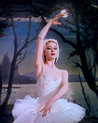 Victoria Page (Moira Lister) dances in the Powell and Pressburger film, The Red Shoes from 1948