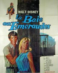 French poster for The Moon-Spinners (1964) (1)