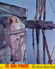 Hayley Mills (as Nikky Ferris) in a lobby card from The Moon-Spinners (1964) (11)