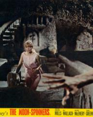 Hayley Mills (as Nikky Ferris) in a lobby card from The Moon-Spinners (1964) (12)