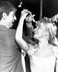 Peter McEnery (as Mark Camford) and Hayley Mills (as Nikky Ferris) in a photograph from The Moon-Spinners (1964) (3)