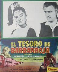 Mexican lobby card from Moonfleet (1955) (3)