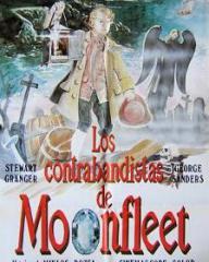 Spanish poster for Moonfleet (1955) (1)