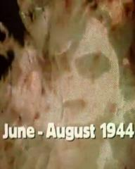 Main title from the 1974 'Morning' episode of The World at War (1973-74) (2). June – August 1944