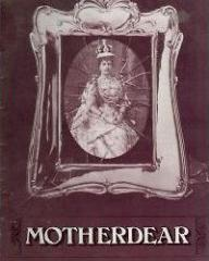 Programme from Motherdear (1980) at the Ambassadors Theatre, London (1)