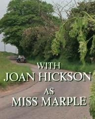 Main title from the 1985 'The Moving Finger' episode of Agatha Christie's Miss Marple (1984-1992) (5). With Joan Hickson as Miss Marple